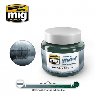 "Eau Acrylique ""Lake Waters - Eaux de Lac"" - AMMO 2202"