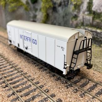 Wagon couvert UIC St 1 Interfrigo Sncb, Ep III-HO 1/87-BRAWA 48331