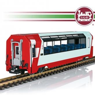 Voiture panoramique RhB 2CL Ep VI train de jardin-G 1/22.5-LGB 33671