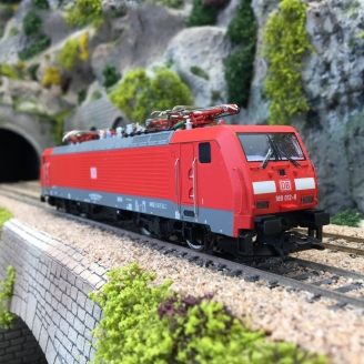 Locomotive 189 012-8 DB Ep VI digital son 3R-HO 1/87-MARKLIN 39866