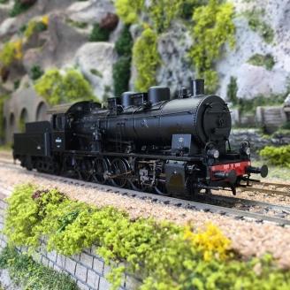Locomotive BR 050 B 646 SNCF Ep III digital 3R-HO-1/87-BRAWA 40825