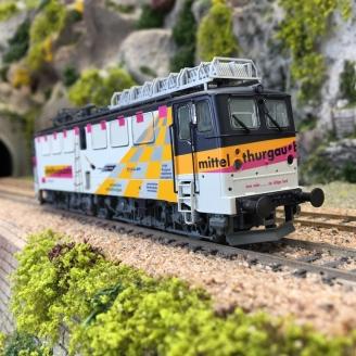 Locomotive AE 477 Mittelthurgaubahn Ep IV digital son -HO 1/87-BRAWA 43144