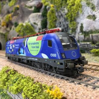 "Locomotive 1116 276-7 ""25 ans"" ÖBB Ep V digital son-HO 1/87-ROCO 70502"