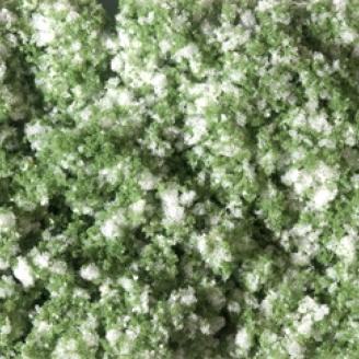 Tapis de fleurs blanches 95 x 150 mm - Auhagen 76933