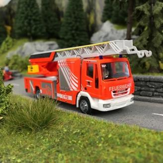 Camion de Pompiers Magirus DLK 32-HO-1/87-RIETZE 68581