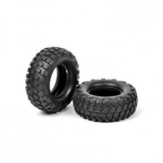 2 pneus à crampons High-Lift CC02 / CC01 - 1/10 - TAMIYA 54598