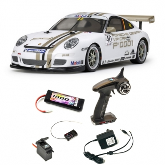 Pack Porsche 911 - 997 GT3 Cup VIP 2008 TT01E Kit - 1/10 - TAMIYA 47429PCK