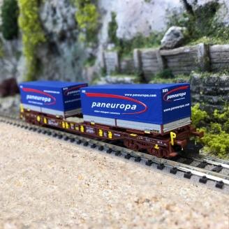 Wagon poche T3, AAE Paneuropa Ep VI - N 1/160 - FLEISCHMANN 825058