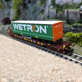 Wagon poche T3, AAE WETRON Ep VI - N 1/160 - FLEISCHMANN 825057