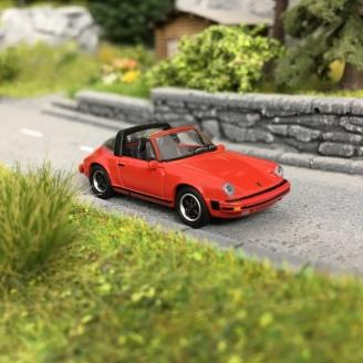 Porsche 911 Carrera 3.2 Targa -HO 1/87-SCHUCO 452656400