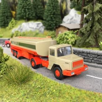 Camion Magirus Deutz Citerne Stadler-HO 1/87-WIKING 78006