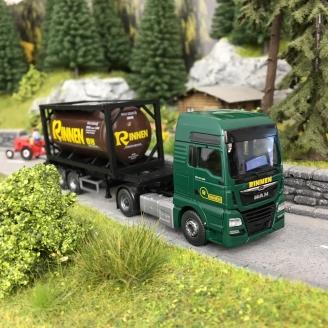 Camion MAN TGX Euro 6C Transport de citerne-HO 1/87-WIKING 53606