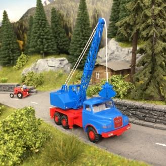 Camion MAN / Fuschs - Grue -HO 1/87-WIKING 66206