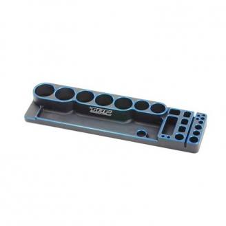 Support outillage aluminium TRF - 1/10 - TAMIYA 42335