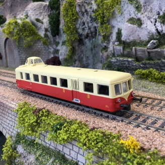 Autorail XBD 5513 Mobylette TARBES Ep III - HO 1/87 - R37 41059