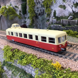 Autorail XBD 5833 Mobylette Chalindrey Ep III - HO 1/87 - R37 41060