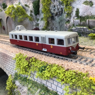 Autorail X 5523 Mobylette Orléans Ep III - HO 1/87 - R37 41058-2