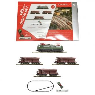 Coffret de démarrage digital BR 151 marchandises DB-N 1/160-FLEISCHMANN 931896