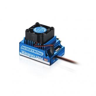 Variateur / Contrôleur XERUN-120A-SD-V2.1-BLUE-1/10-HOBBYWING HW81020170