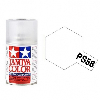 Vernis Nacré Brillant Polycarbonate Spray de 100ml-TAMIYA PS58