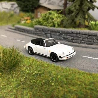 Porsche 911 Carrera 3.2 Cabriolet -HO 1/87-SCHUCO 452659800