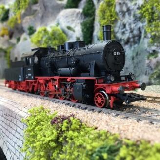 Locomotive BR 56.2-8 DB Ep III digital son 3R - HO 1/87 - MARKLIN 37518