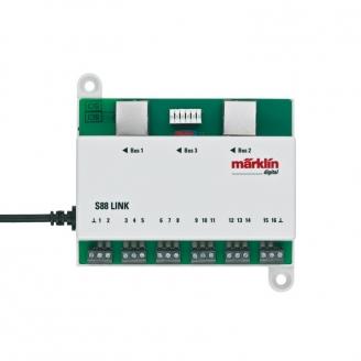 Module de rétro-signalisation L88 - raccord S88 - HO 1/87 - MARKLIN 60883