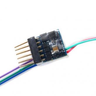 Décodeur digital 6 broches NEM651 Lokpilot Micro V5 DCC-ESU-59827