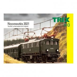Catalogue nouveautés Trix 2021 français 66 pages - TRIX 2021