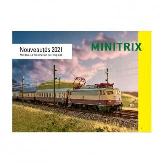 Catalogue nouveautés Minitrix 2021 français 66 pages - MINITRIX 2021