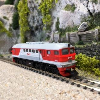 Locomotive diesel M62, RZD Ep VI - N 1/160 - FLEISCHMANN 725210
