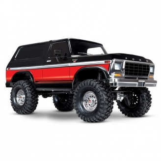 Ford Bronco Ranger XLT TRX-4 4WD Rouge-1/10-TRAXXAS 82046-4