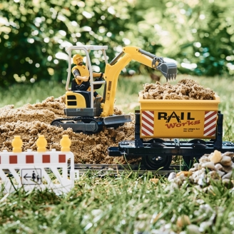 Kit d'extension Chantier de construction -G 1/22.5 - LGB 49501