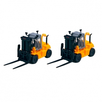 2 Chariots élévateurs FD115 TCM -N 1/160-KATO 23515