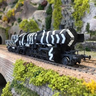 Locomotive Kriegslok BR 42 1486 DRG Ep II - HO 1/87 - LILIPUT L131503