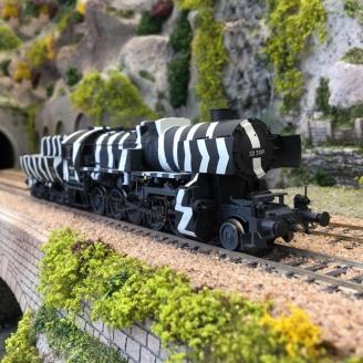 Locomotive Kriegslok BR 52 3109 DRG Ep II - HO 1/87 - LILIPUT L131524
