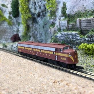 Locomotive Américaine E8A Pennsylvania Railroad Ep IV-Z 1/220-MARKLIN 88629