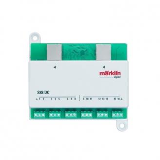 Module de rétro-signalisation S 88 DC-Toutes échelles-MARKLIN 60882