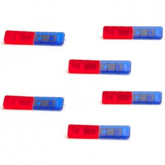 Nautech Spectra LED Rampe de Clignotant 6 Pièces -HO 1/87- HERPA 54164