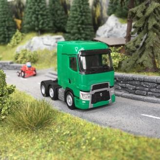 Camion Tracteur Renault T 6x2 Vert-HO 1/87-HERPA 311588-002