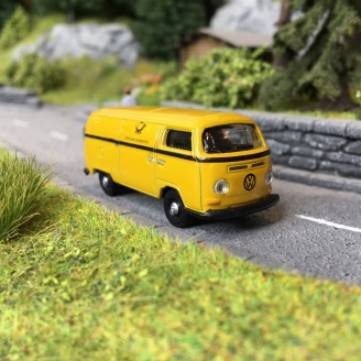 VW Combi Bay Window Poste Allemande-HO 1/87-SCHUCO 452660500