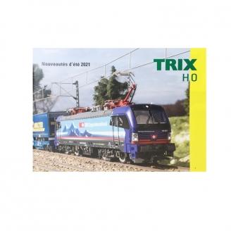 Catalogue nouveautés été Trix 2021 français 12 pages - TRIX 2021