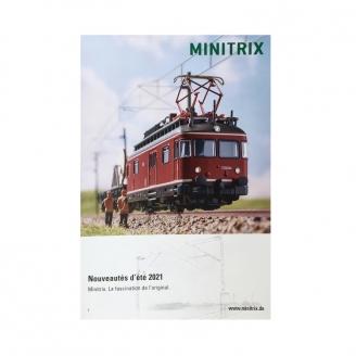 Dépliant Poster nouveautés été Minitrix 2021 français - MINITRIX 2021