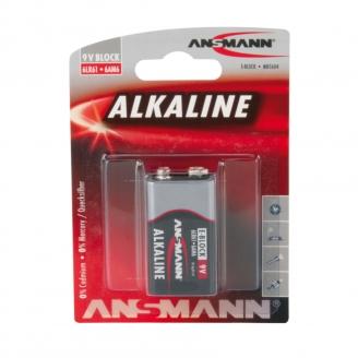 Pile Alkaline Block 9V - ANSMANN 500609045