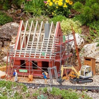 Maison en construction + Accessoires - G 1/22.5 - POLA 331055