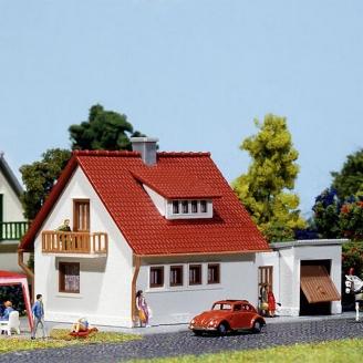 Maison Pavillon avec éclairage-N 1/160-FALLER 232550