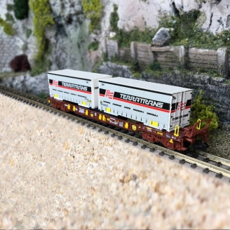 Wagon-poche T3, AAE Ep VI - N 1/160 - FLEISCHMANN 825056