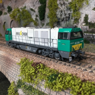 Locomotive Vossloh G2000 BB Ep VI RTS Rail digitale son 3R-HO-1/87-MARKLIN 37214
