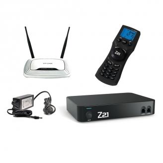 Set Digital Z21 Noire - Routeur +  commande Multimaus sans fil - ROCO 10834