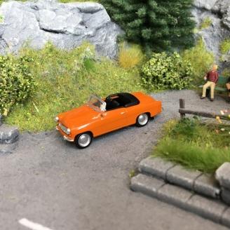 Skoda Felicia Orange-HO 1/87-Starline Models 27436